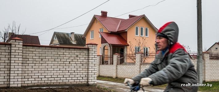 Фотофакт: «Долина нищих» — квартал коттеджей обеспеченных жителей Солигорска