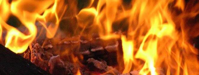 В Солигорском районе горела столовая