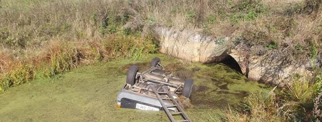 Солигорский район: Opel вылетел в канаву, его водитель утонул